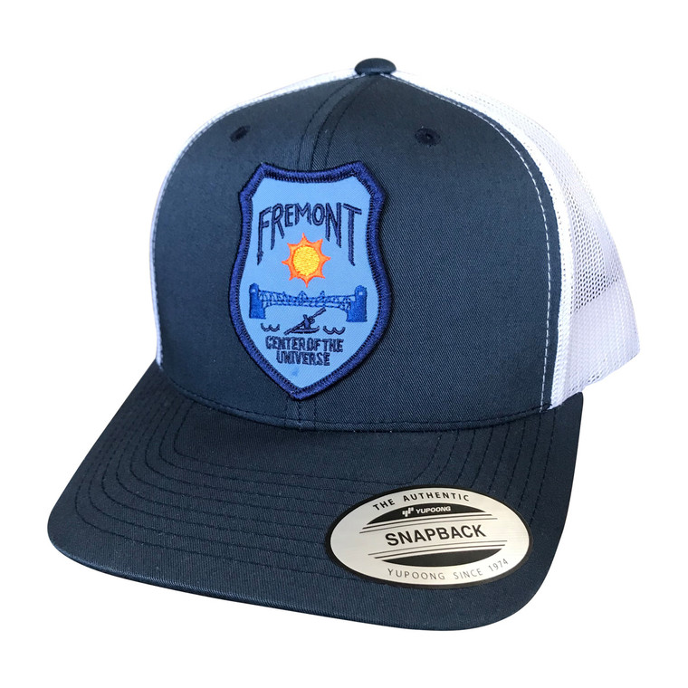 Fremont adult trucker hat