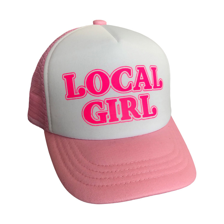 Local Girl baby & toddler hat (pink)