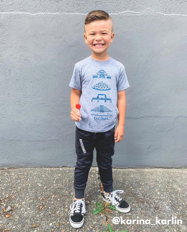 Tacoma Union Station baby & kids t-shirt (1)