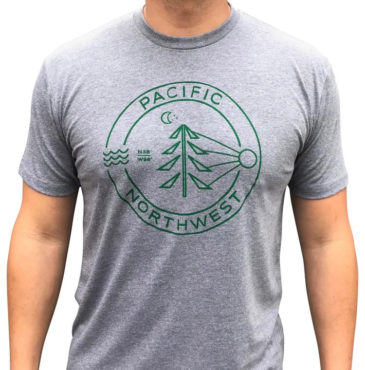 Evergreen PNW mens/unisex t-shirt