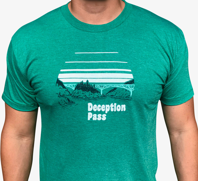 Deception Pass men's tee