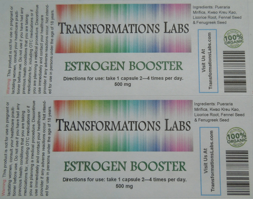 Estrogen Booster & Testosterone Blocker Twin Pack
