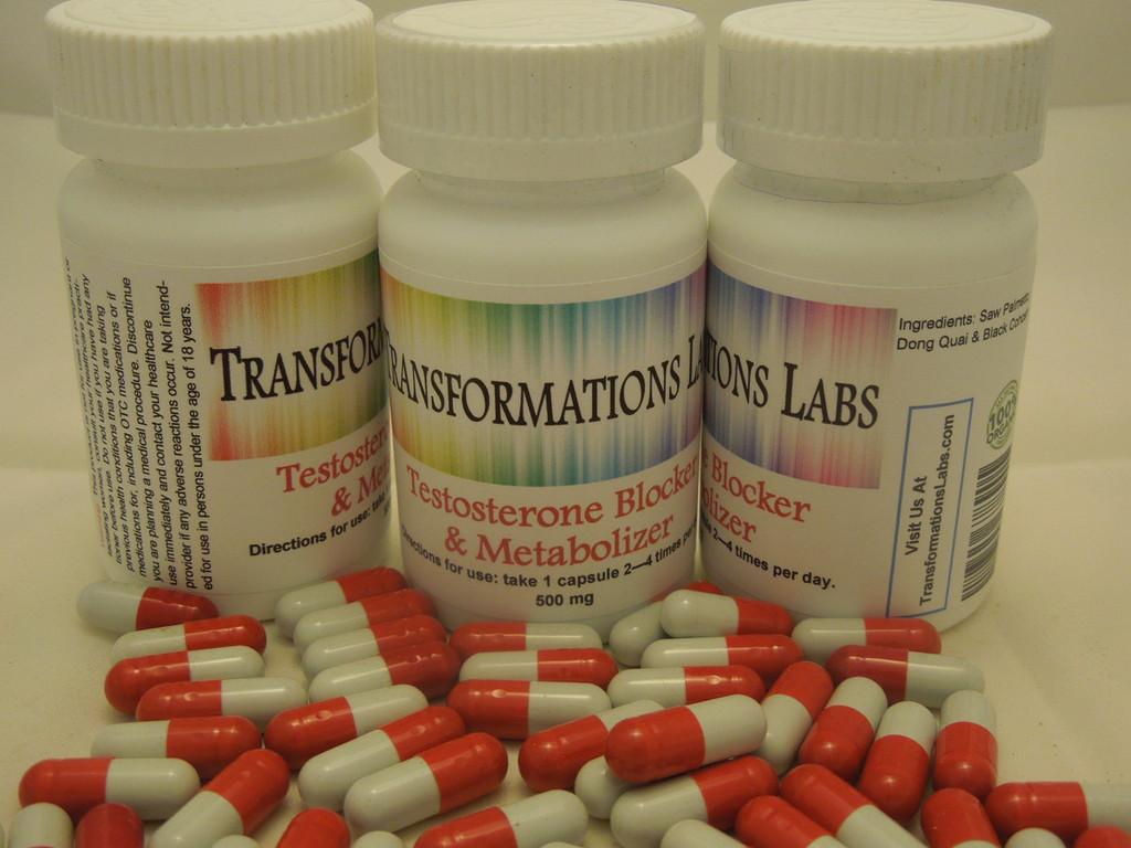 Testosterone Blocker Triple Pack & Feminzer