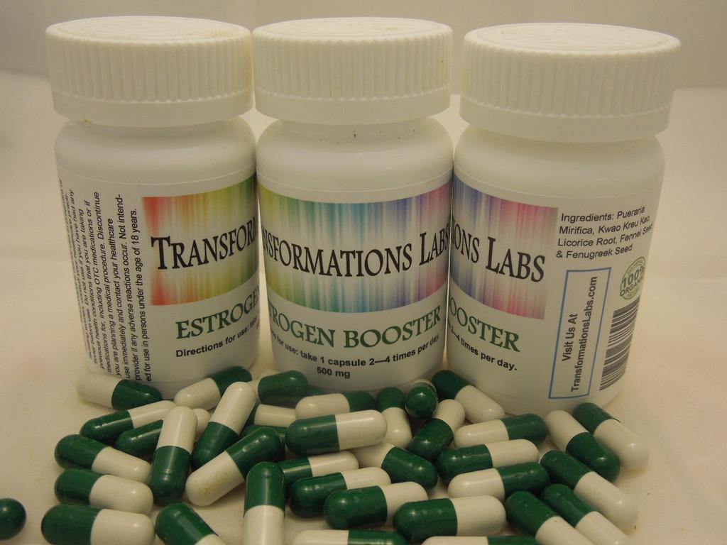 Estrogen Booster & Feminizer Triple Pack