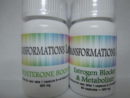 Testosterone Booster & Estrogen Blocker Pack