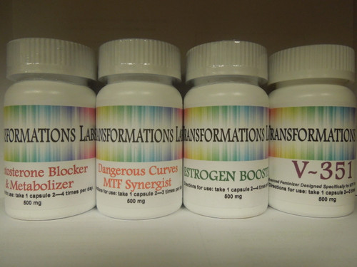 Estrogen Booster, Testosterone Blocker, Dangerous Curves & V-351