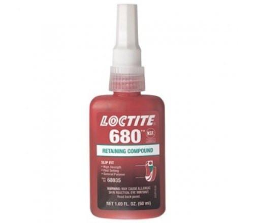 Loctite 680 Compuesto Retenedor, Alta Resistencia - Botella 50 ml