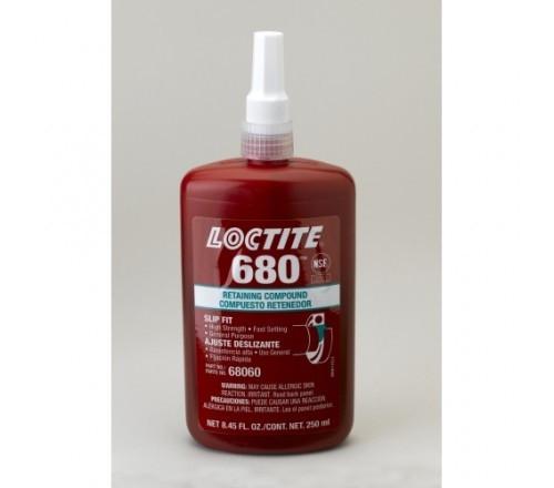 Loctite 680 Compuesto Retenedor, Alta Resistencia - Botella 250 ml