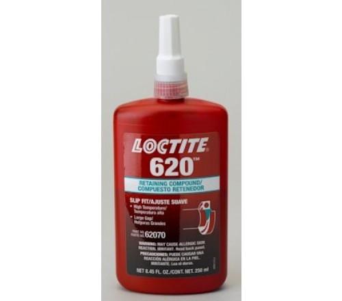 Loctite 620 Compuesto Retenedor, Alta Temperatura - Botella 50 ml
