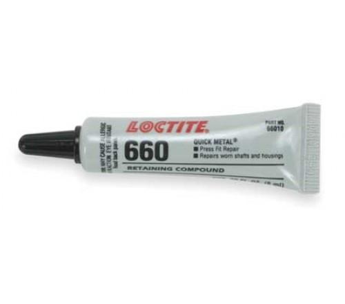 Loctite 660 Quick Metal Compuesto Retenedor - Tubo 50 ml