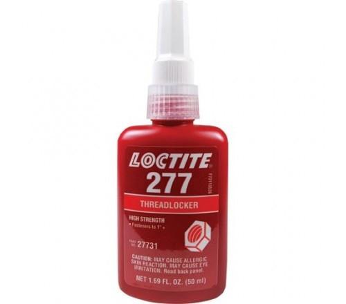 Loctite 277 Fijador de Roscas, Resistencia Alta - Botella 50 ml