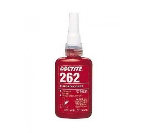 Loctite 262 Fijador de Roscas, Resistencia Alta - Permanente - Botella 50 ml