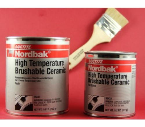 Loctite NORDBAK HIGH TEMPERATURE BRUSHABLE CERAMIC - kit 2 lb