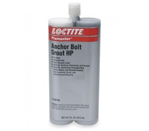 Loctite Fixmaster Anchor Bolt Grout Hp - Cartucho Dual 207 Oz