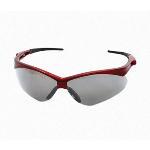 Lentes De Seguridad Derma Sky, Armazon Color Rojo, Lente Claro (rojo)