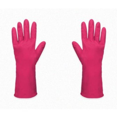 Guante de Latex Flocado(rosa)