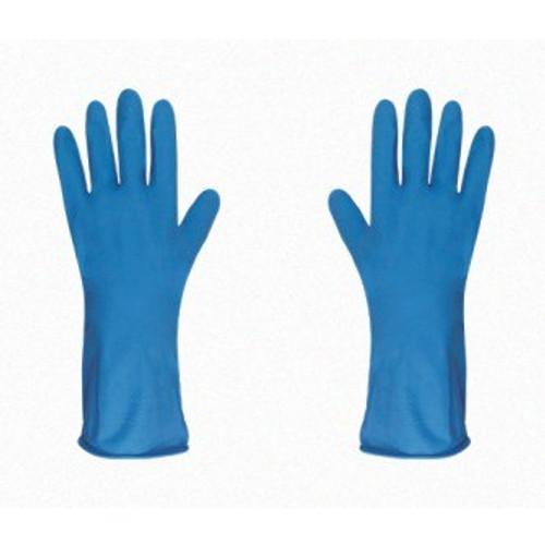Guante de Latex Flocado(azul)