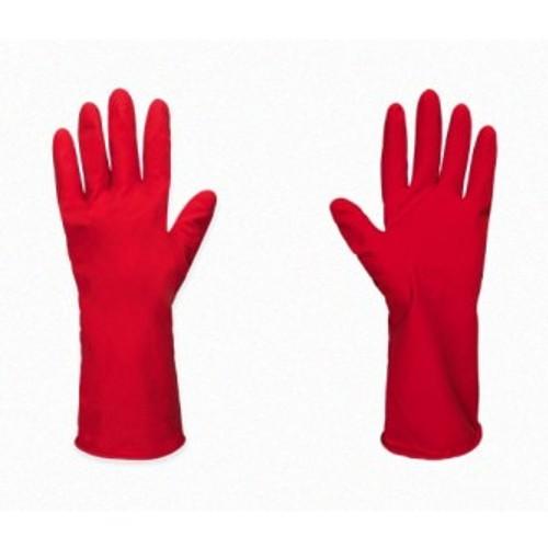 Guante de Latex Flocado(rojo)