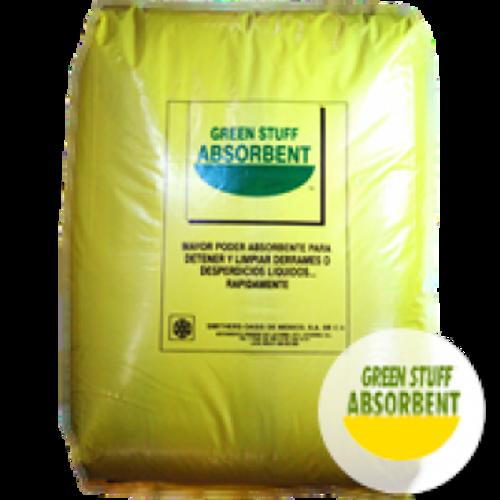 Absorbente De Derrames Universal Green Stuff, Bolsa 2.5Kg Granulado