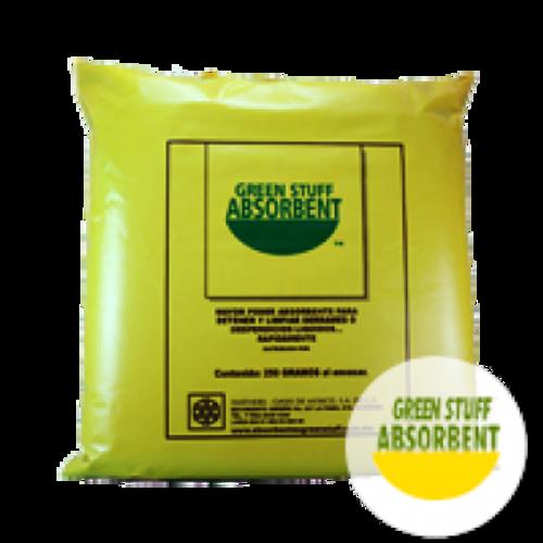 Absorbente De Derrames Universal Green Stuff, Bolsa De 250 Gr. Granulado