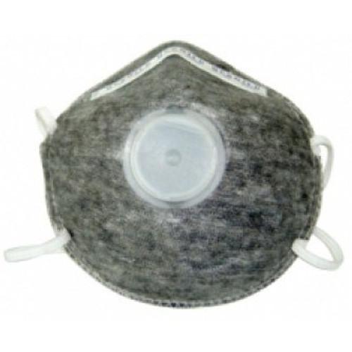 Mascarilla con carbon activado y sello contorno completo y valvula de exhalacion