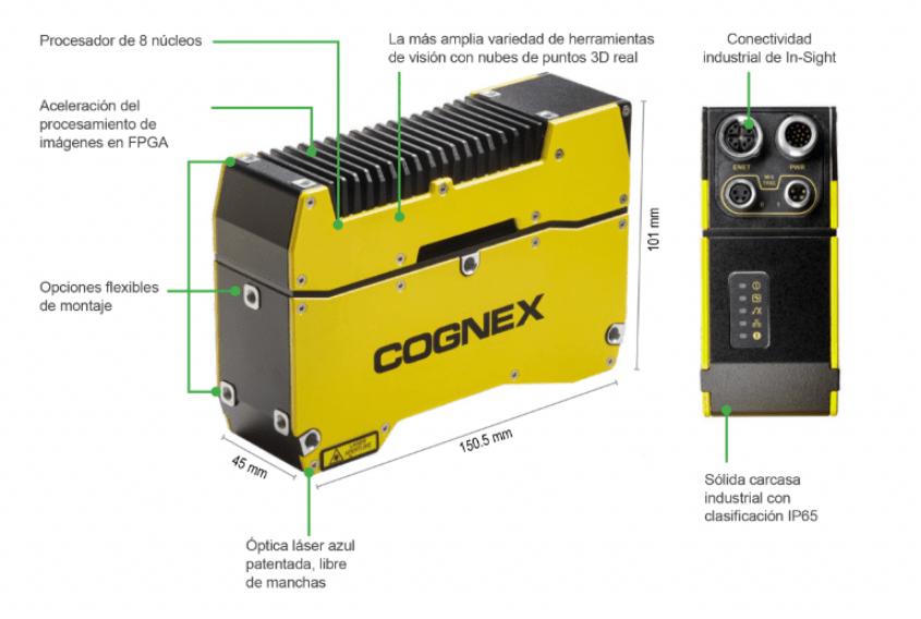 Características del In-Sight 3D-L4000