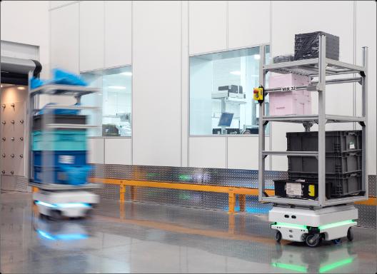 Ventajas del robot MiR 1000