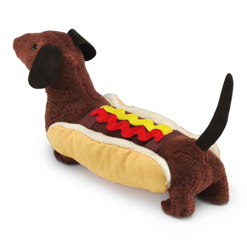 Folkmanis Hot Dog Finger Puppet back