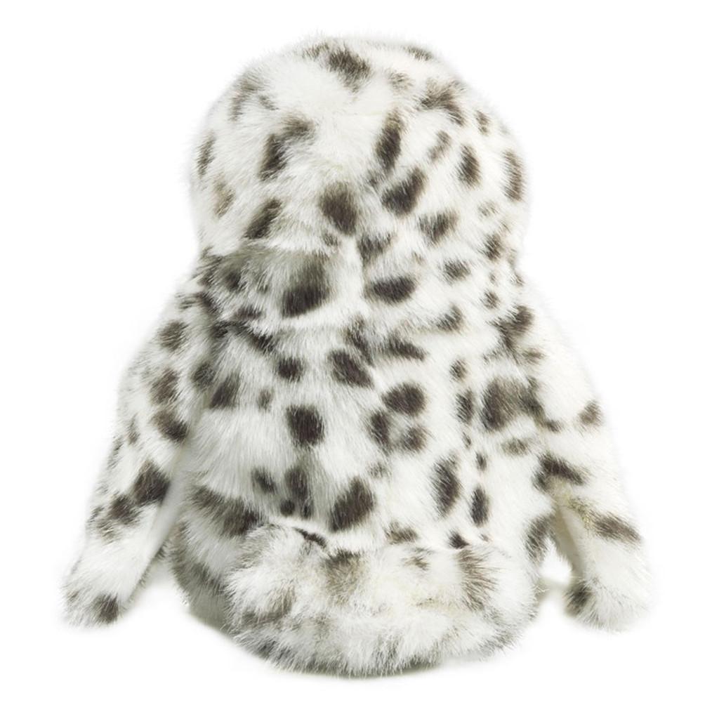Folkmanis Little Snowy Owl Puppet back