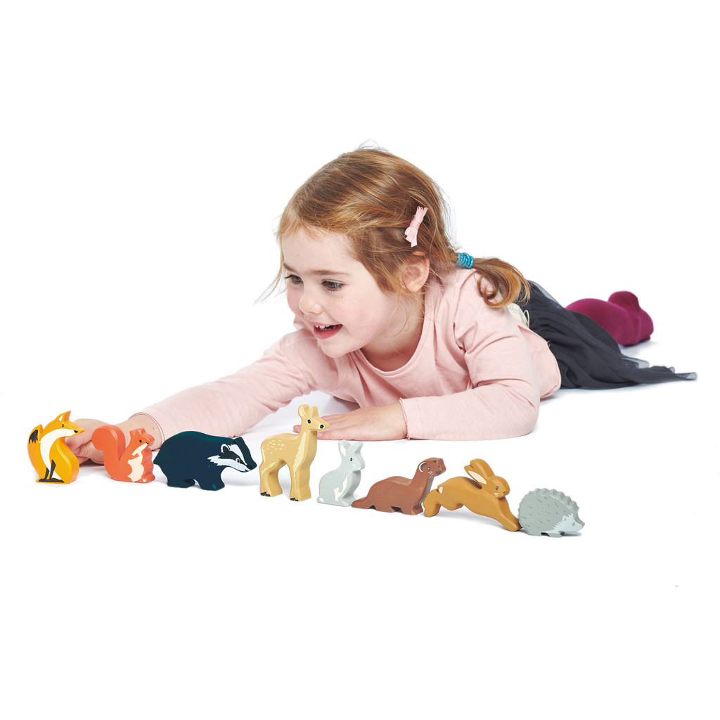 Tender Leaf Toys Woodland Animals with girl (each sold separately)