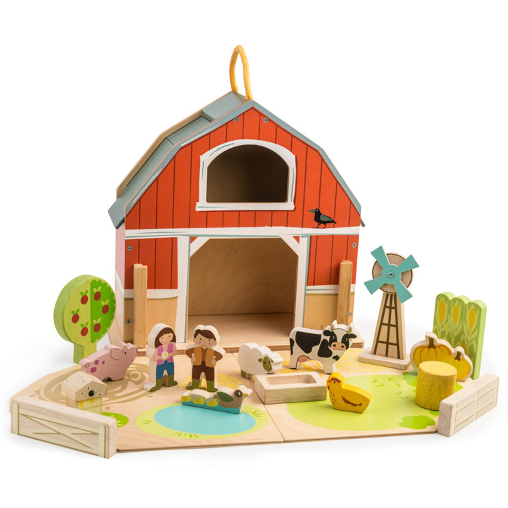 Tender Leaf Toys Little Barnyard Set