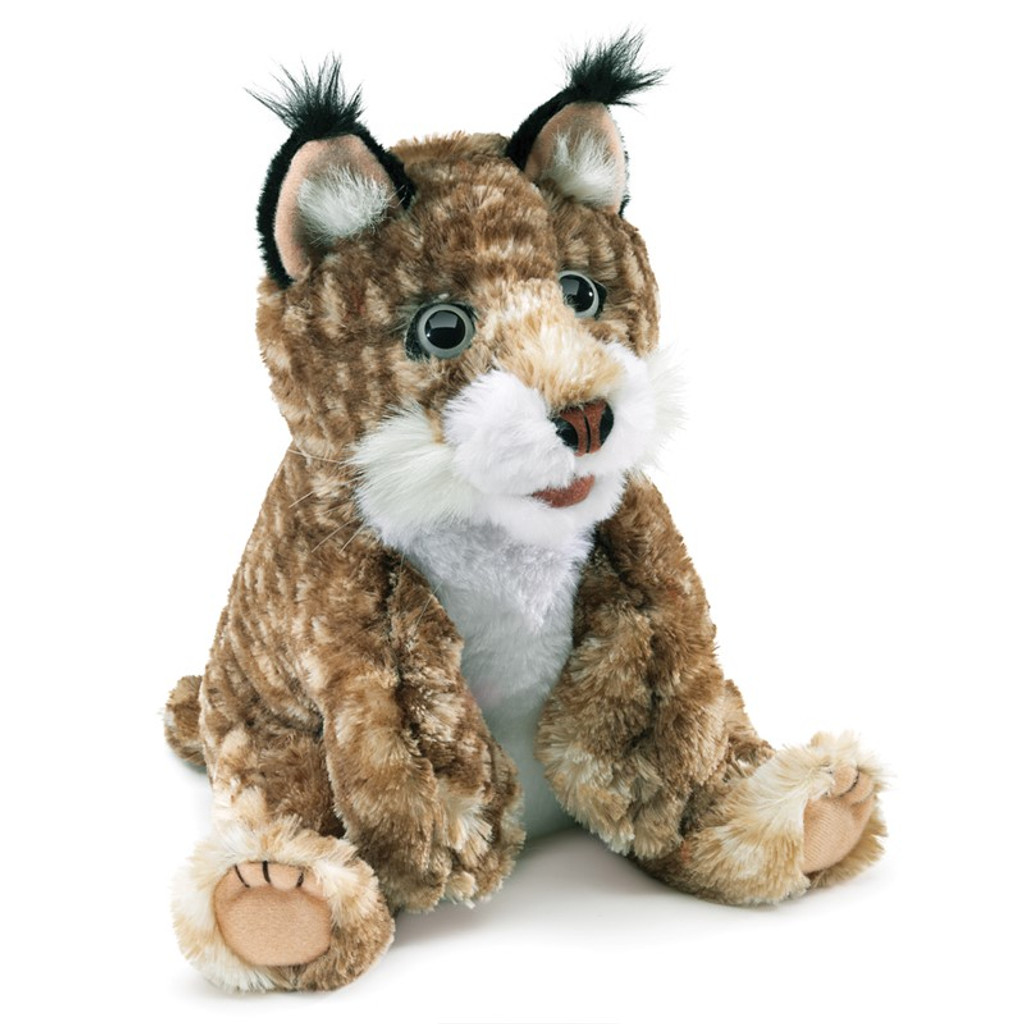 Folkmanis Bobcat Kitten Puppet