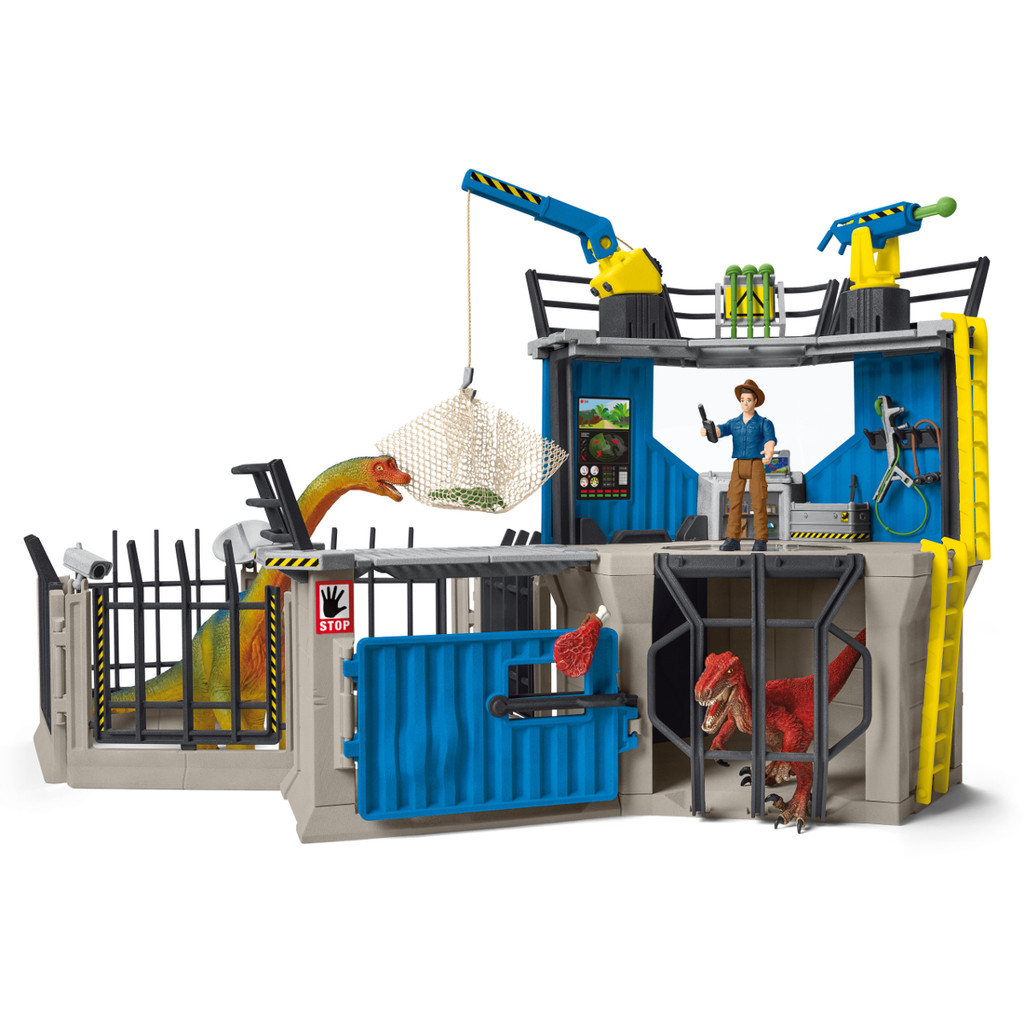 Schleich Large Dino Research Station 41462