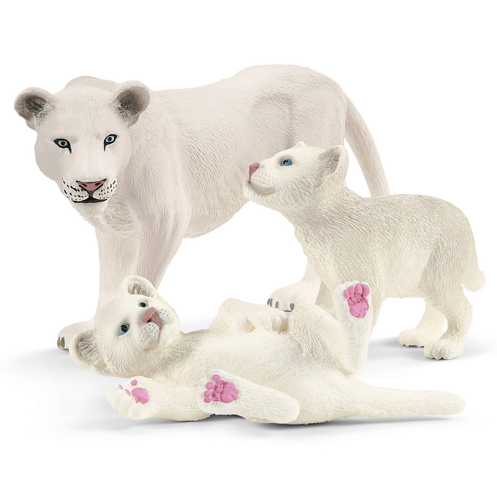 Schleich Lion Mother with Cubs 42505