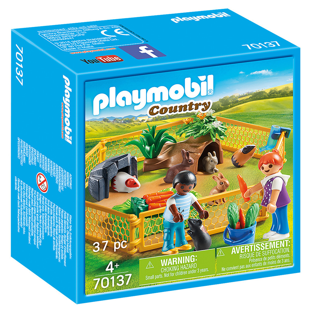 Playmobil Farm Animal Enclosure packaging
