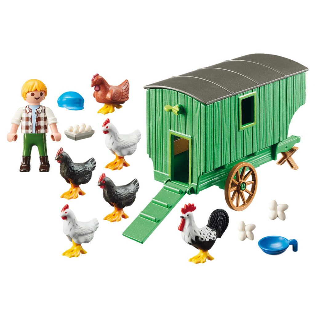 Playmobil Chicken Coop inclusions
