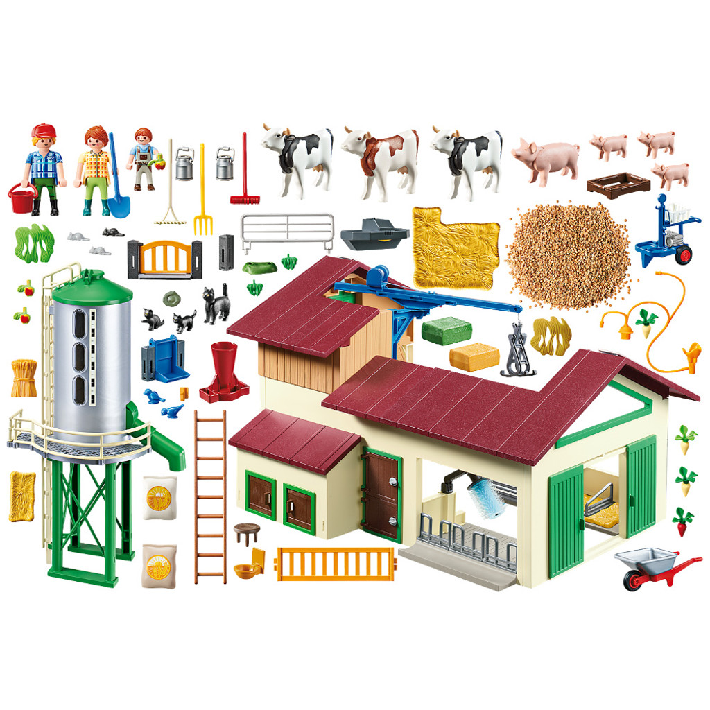 Playmobil Farm with Animals inclusions