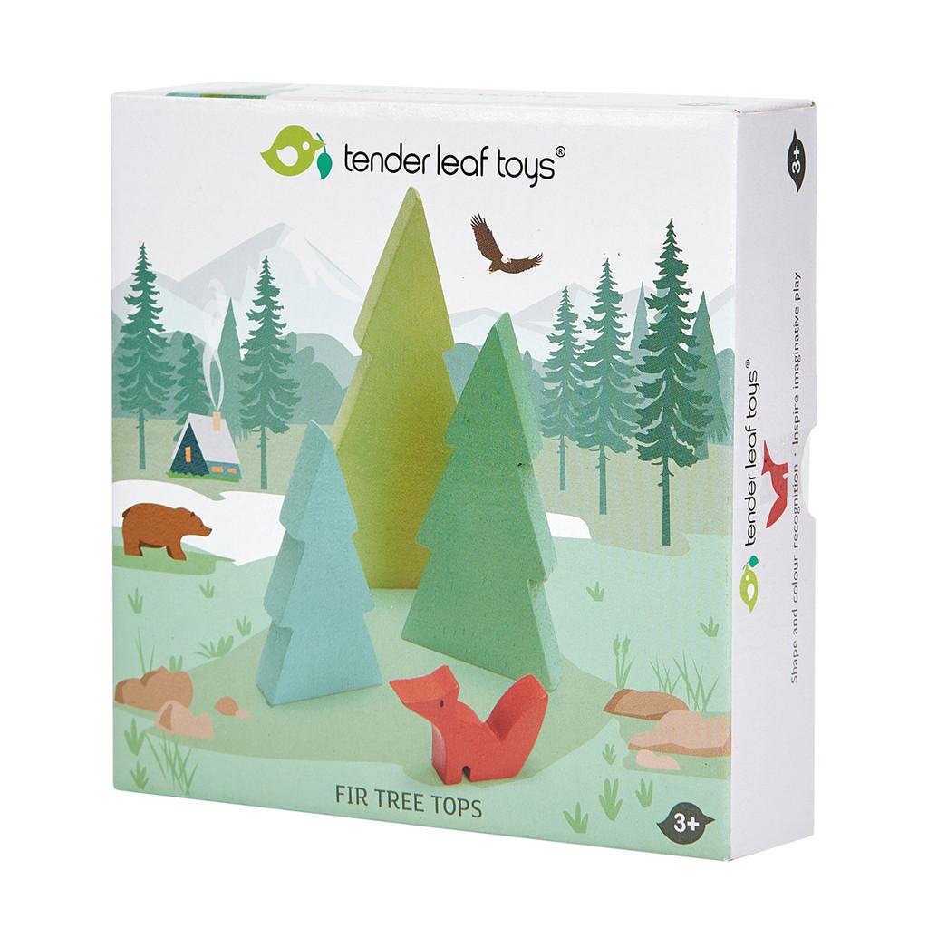 Tender Leaf Toys Fir Tree Set box