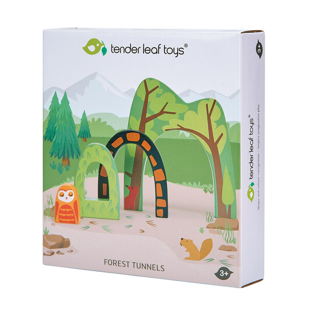 Tender Leaf Toys Forest Tunnels box