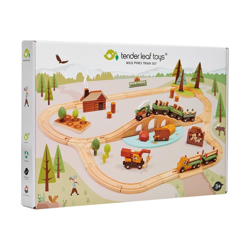 Tender Leaf Toys Wild Pines Train Set