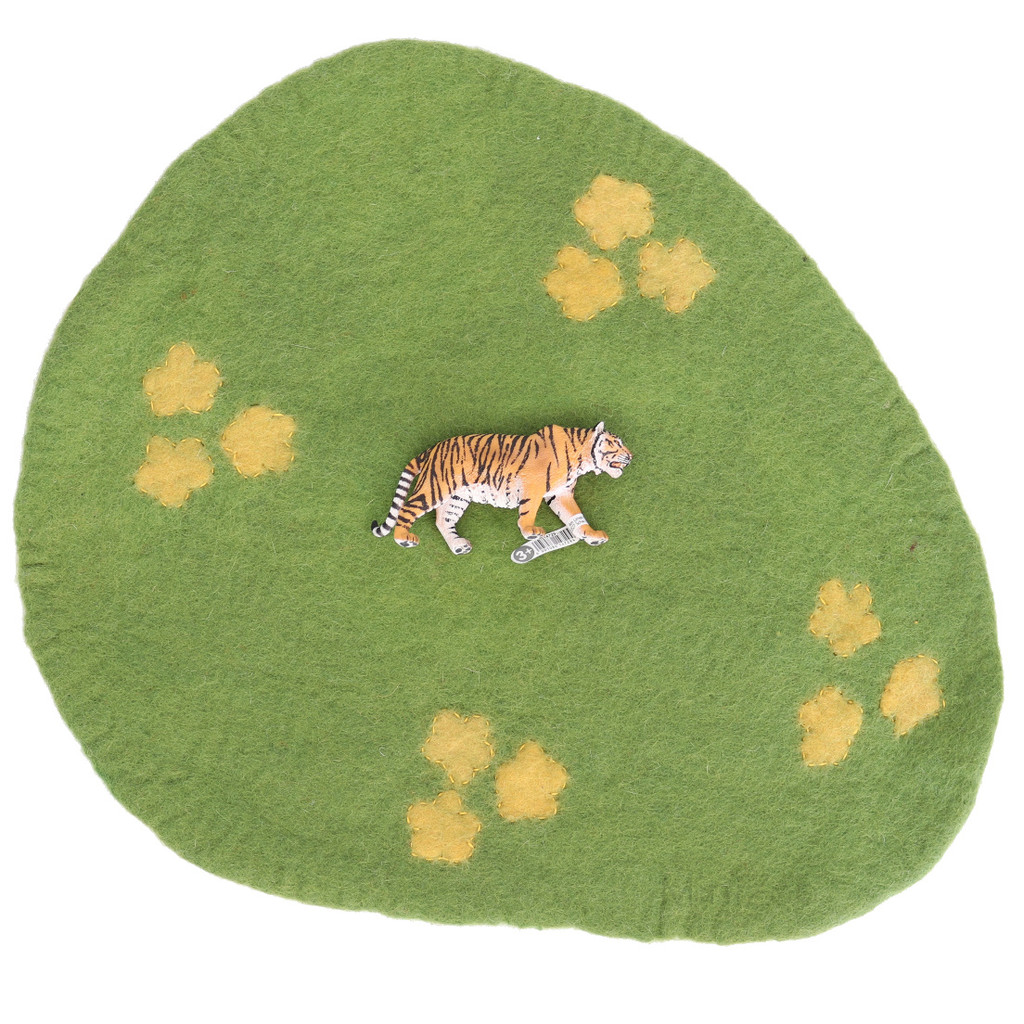 Papoose Australia Scape Mat size with Schleich Tiger (sold separately)