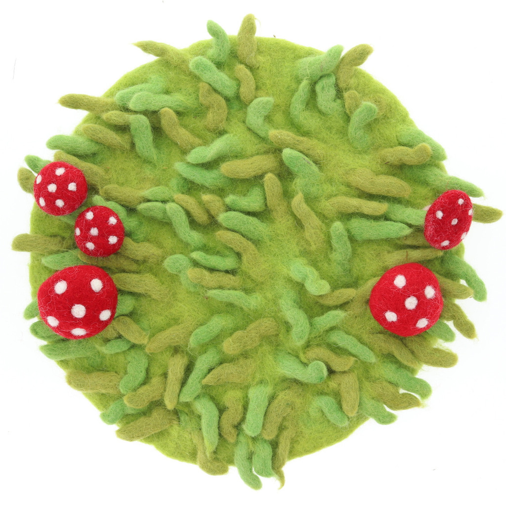 Papoose Summer Fairy House Grassy Mat