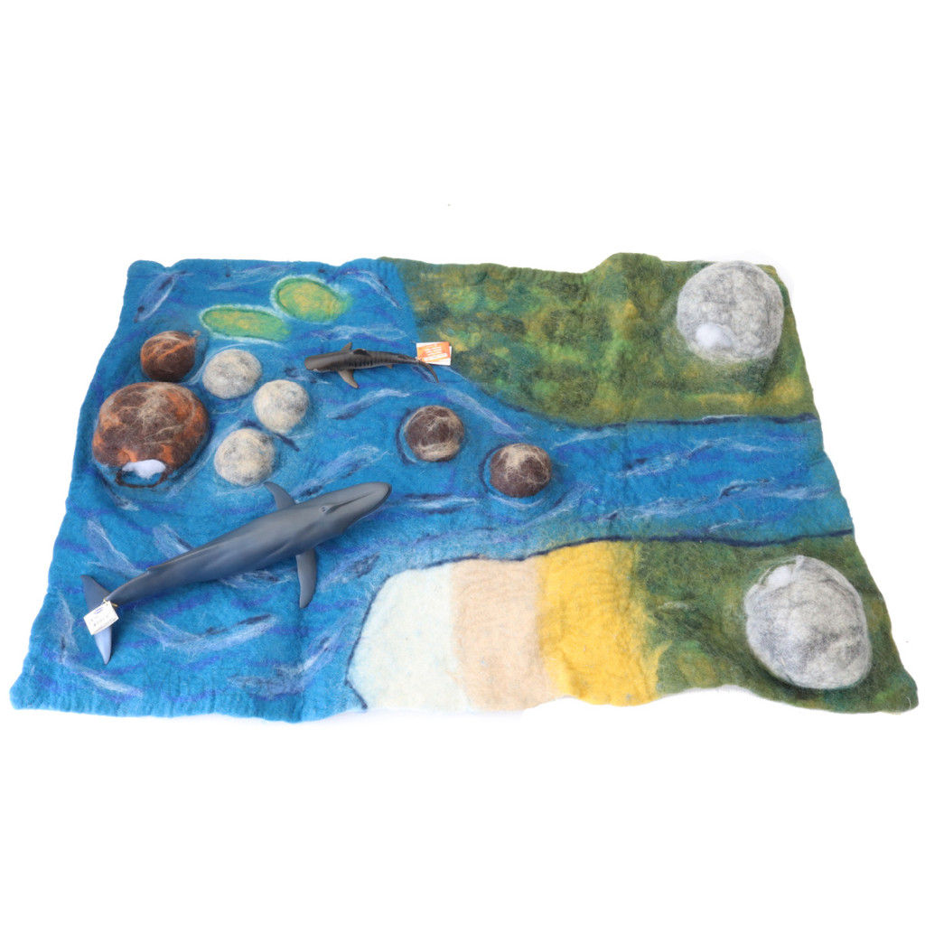 Papoose Estuary Mat with figures (sold separately)