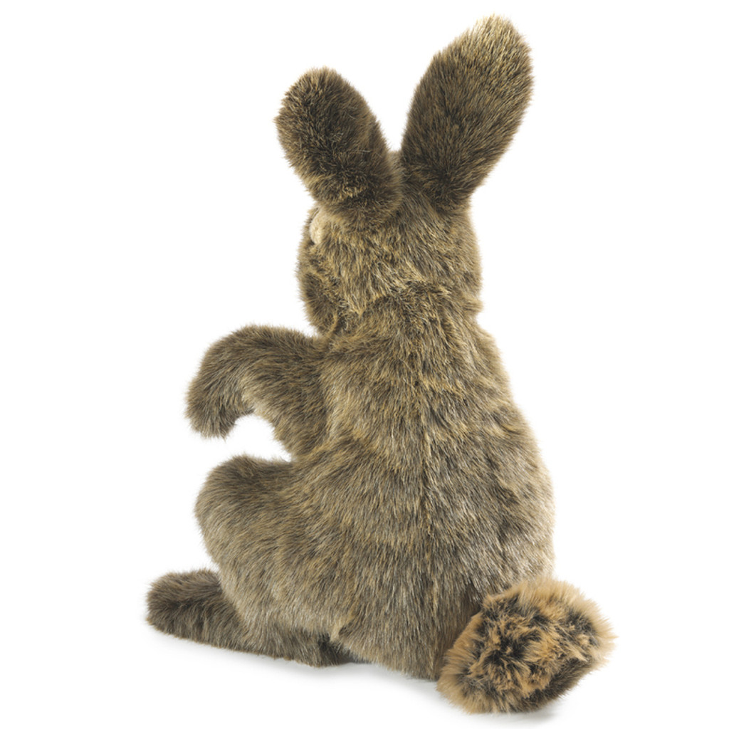 Folkmanis Hare Puppet back