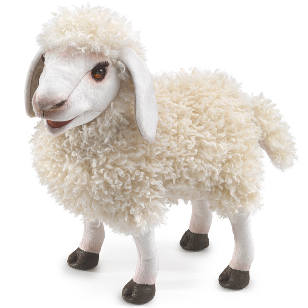 Folkmanis Woolly Sheep Puppet