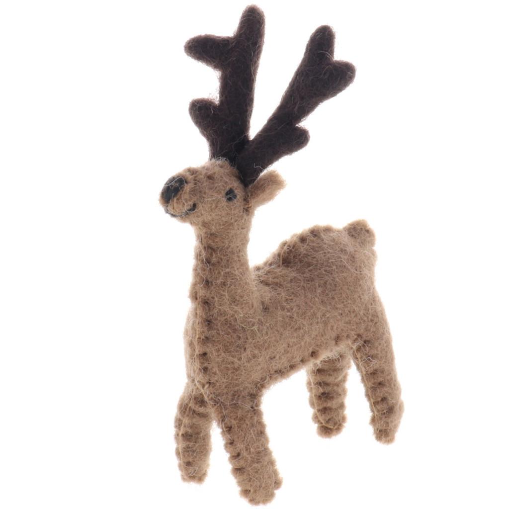 Papoose Felt Reindeer