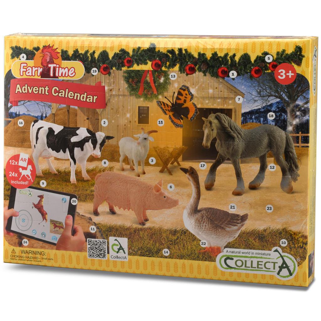 CollectA Farm & Horse Advent Calendar box