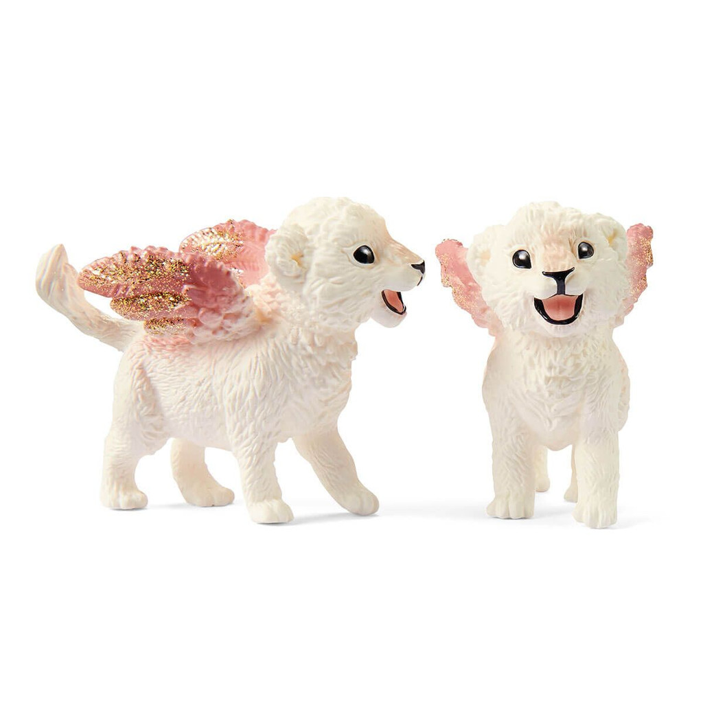 Schleich Training For Winged Baby Lions
