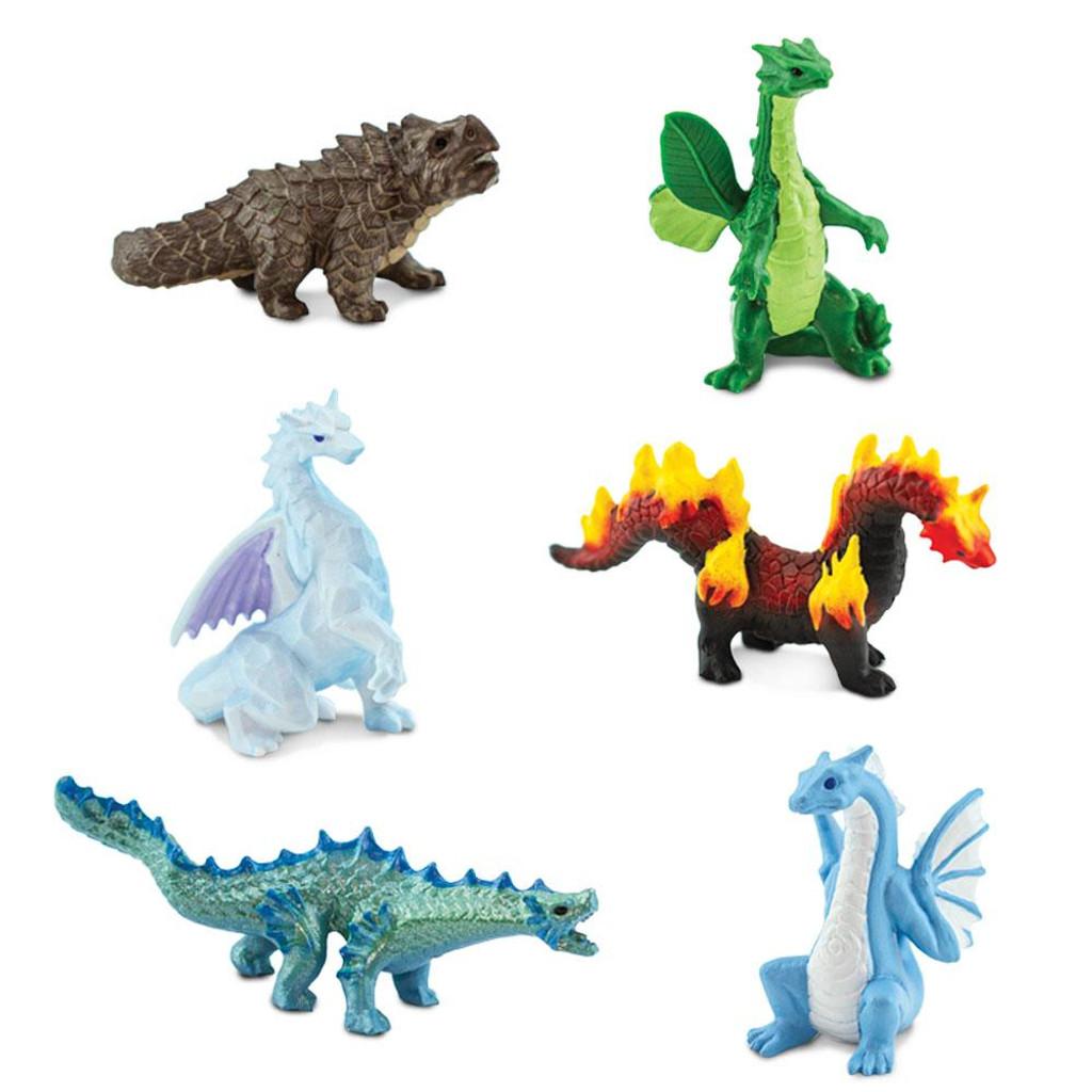 Safari Ltd Dragons of the Elements Toob figures