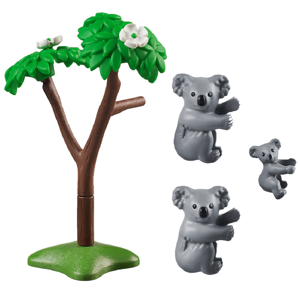 Playmobil Koalas with Baby inclusions